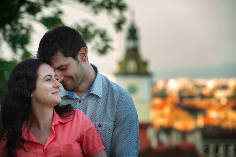 Raluca and Andrei Engagement Session, Old Center Brasov, Romania